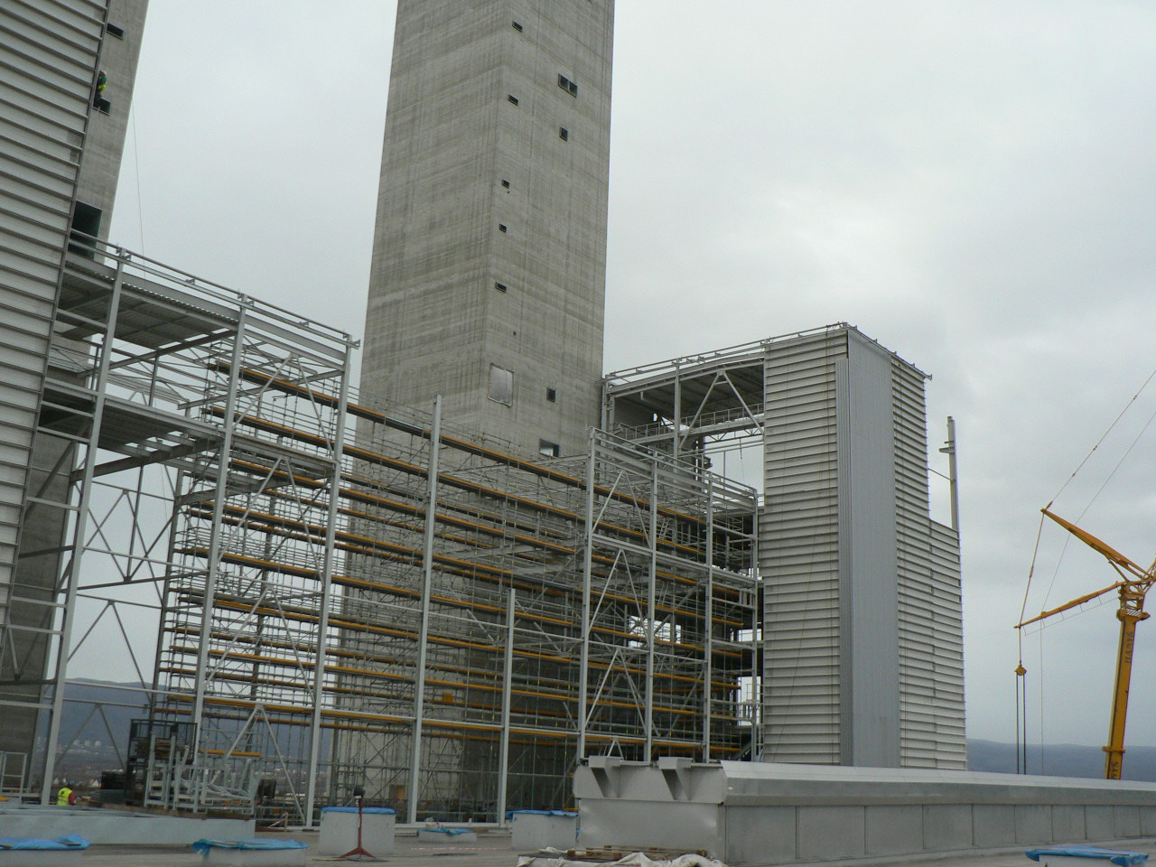 New 660 MWe Power Source in Ledvice Power Plant OB01 – Coal Handling, work B